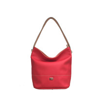Dave Jones Red Accessory Hand Bag