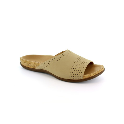 Strive Tan Leather Upper & Insole Sandal