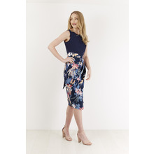 Closet FLORAL 2 IN 1 CONTRAST DRESS