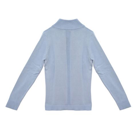 Twist Sky Blue Zip Knit