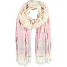 Passigatti Light Rose Stripe Lurex Scarf