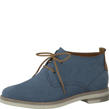 Marco Tozzi Denim Dessert Laced Boot