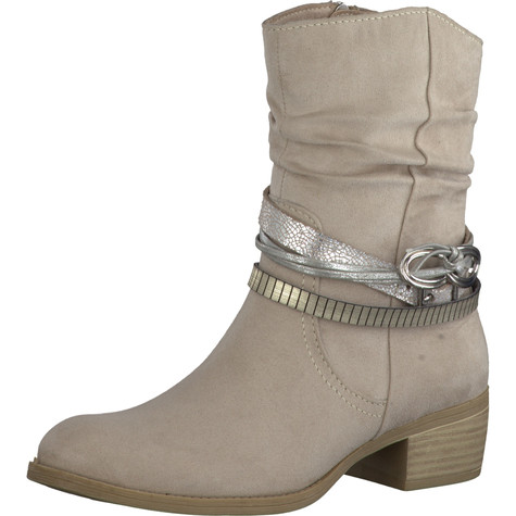 Marco Tozzi Beige Ankle Boot