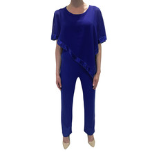 Zapara Royal Blue Glittery Jumpsuit