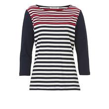 Betty Barclay Red, Navy & Cream Knit