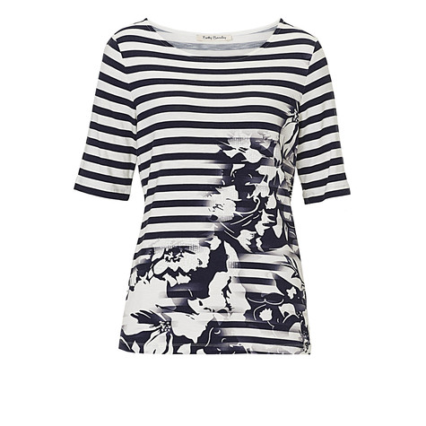 Betty Barclay Stripe Floral Top