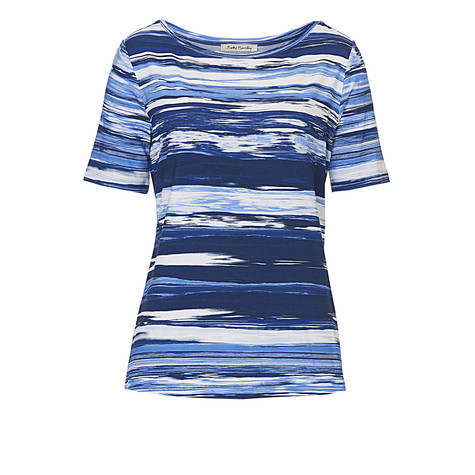 Betty Barclay Blue Pattern Print Top