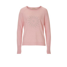 Betty Barclay PALE PINK KNIT WITH DECORATIVE STUDDING