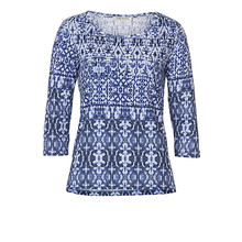 Betty Barclay BLUE PATTERN PRINT TOP