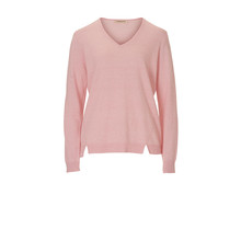 Betty Barclay PALE PINK V-NECK KNIT