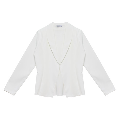 Zapara Off White Dallas Blazer