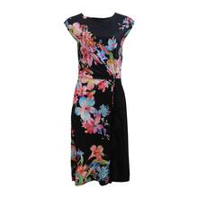 Zapara Cashmere Paisley Design Dress
