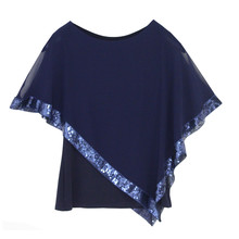 Zapara Midnight Sequence Band Top