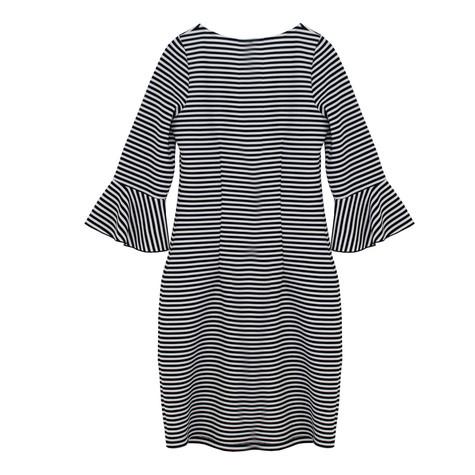 Twist Navy & White Stripe Dress