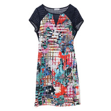 Zapara Digital Multi Colour Print Dress