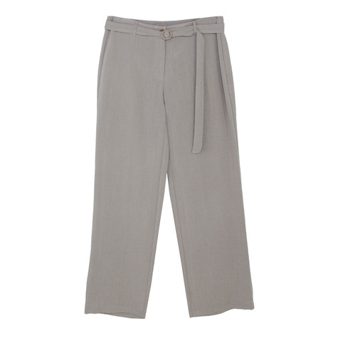 SophieB Natural Linen Effect Drawstring Trousers