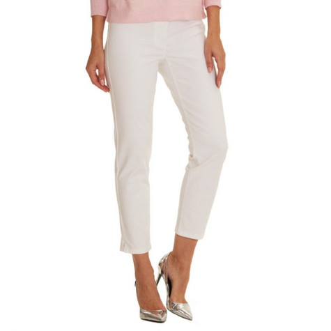 Betty Barclay White Slim Jeans