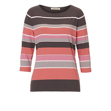 Betty Barclay Pale Pink Multi Stripe Top