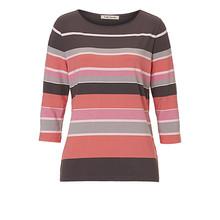 Betty Barclay Pale Pink Multi Stripe Top
