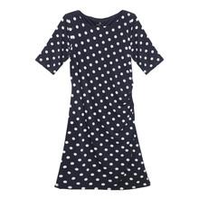 Ronni Nicole Polka Dot Pattern Ripple Effect Dress