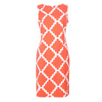 Ronni Nicole Orange & White Sleeveless Dress - NOW €45 -