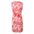 Ronni Nicole White & Orange Paisley Print Dress
