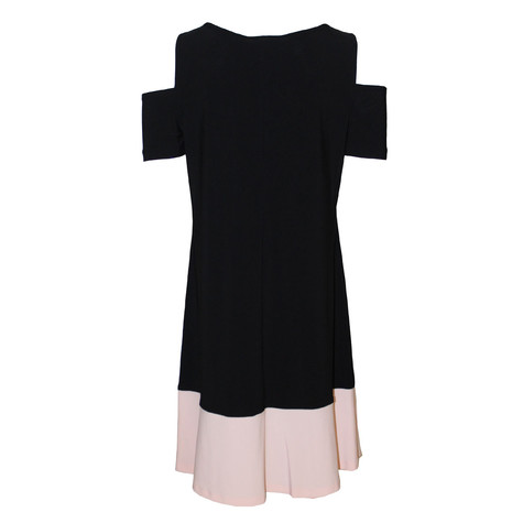 Ronni Nicole Black Cold Shoulder Dress