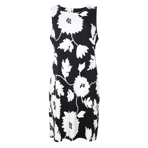 Ronni Nicole White Floral Rubber Effect floral Print Dress - NOW €45 -