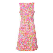 Ronni Nicole Fushia Paisley Print Dress - NOW €45 -