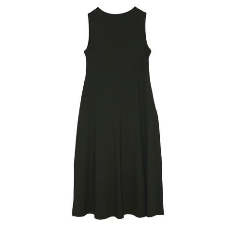 SophieB Khaki Long Diamante Detail Dress