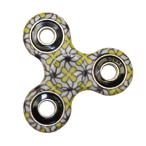 SPINNERS Yellow & Black Spinner