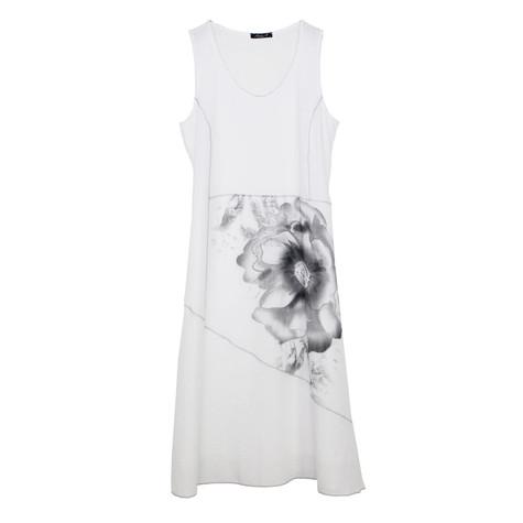 SophieB Off White Flower Detail Dress