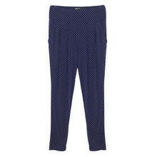 SophieB Navy Spot Detail Light Trousers