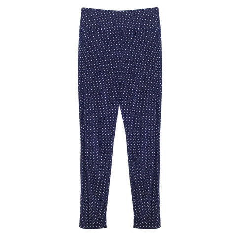SophieB Navy Spot Detail Light Trousers