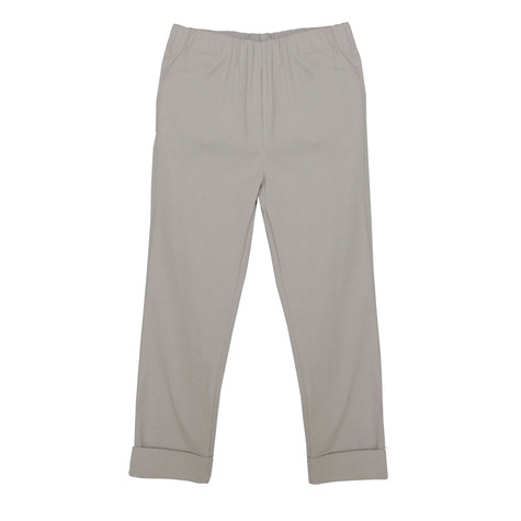 Twist Beige Turn Up Trousers