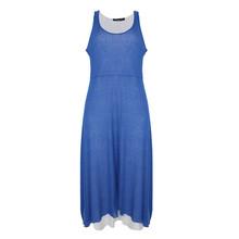 SophieB Royal Blue Long Summer Dress