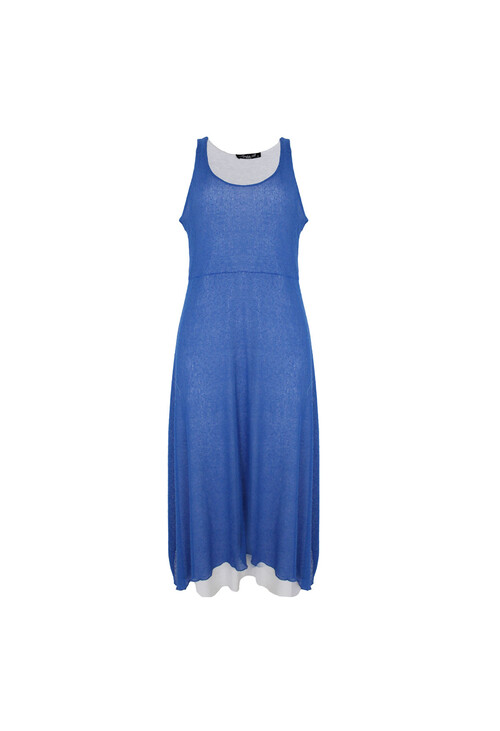 Sophie B Royal Blue Long Summer Dress