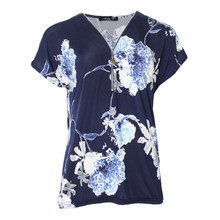 SophieB Midnight Digital Floral Print Top