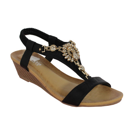 low price sale online perfect for sale Pop Black/Gold Sandal buy cheap low shipping fee excellent cheap price 8PpOOl