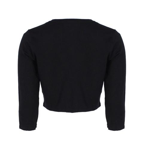 Chetta B Black Short Knit Bolero