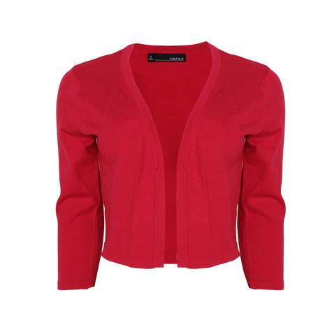 Chetta B Strawberry Short Bolero Knit