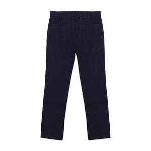 YOU YOU Dark Blue Straight Trousers
