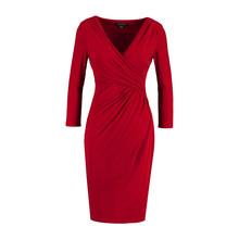 Lauren by Ralph Lauren Red Electra Dress