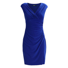 Lauren by Ralph Lauren Lazuli Navy Dress