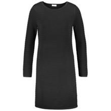 Gerry Weber City Stories Black Ribbed Long Sleeve Dress