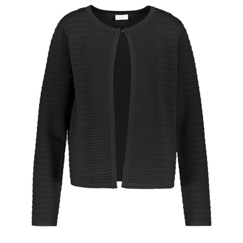 Gerry Weber City Stories Black Ribbed Open Knit