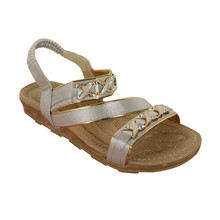 Ami Star Silver Soft Strap Sandal