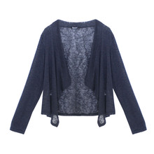 Twist Navy Cover Up Knit