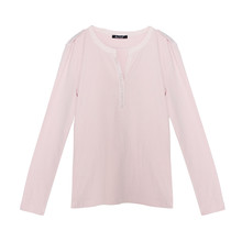 Twist Pink Diamante Long Sleeve Top
