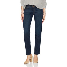 Democracy Women's Patriot Solution Straight Leg Indigo Wash